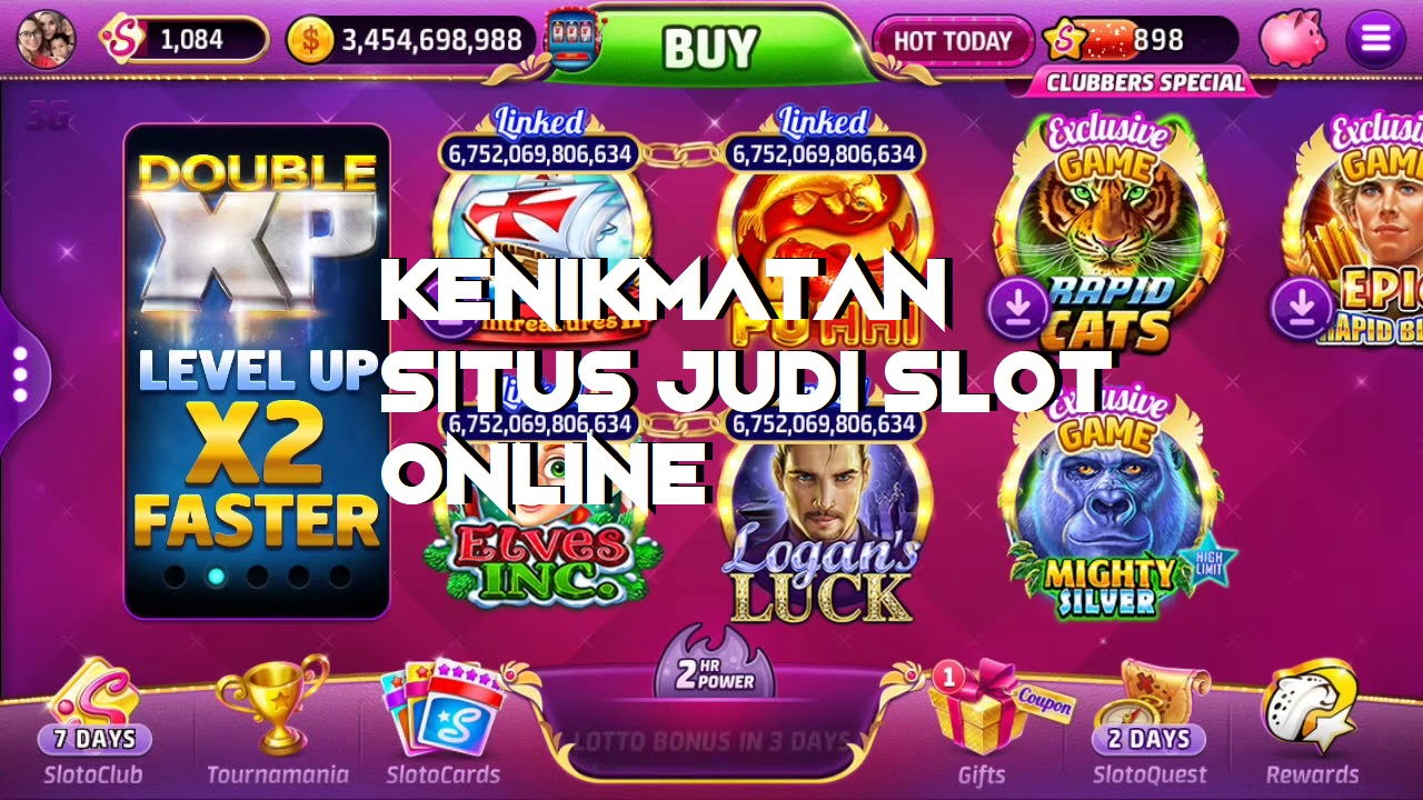Kenikmatan Situs Judi Slot Online
